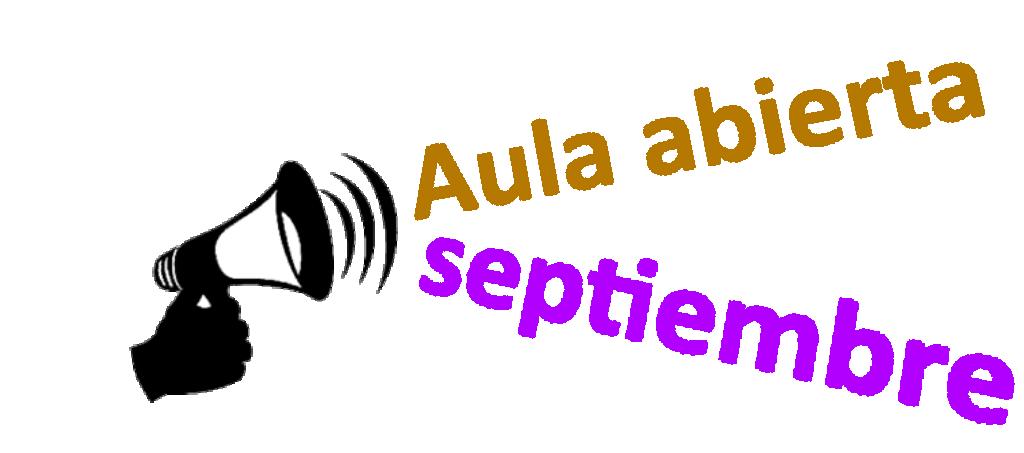 Aula Abierta de septiembre